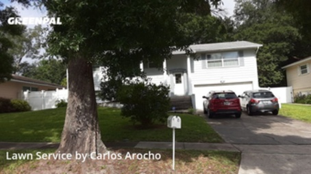 Yard Cuttingin Altamonte Springs,32714,Grass Cutting by Arocho Landscaping , work completed in Aug , 2020