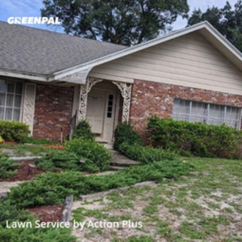 Lawn Carein Winter Park,32789,Yard Mowing by Action Plus, work completed in Jul , 2020