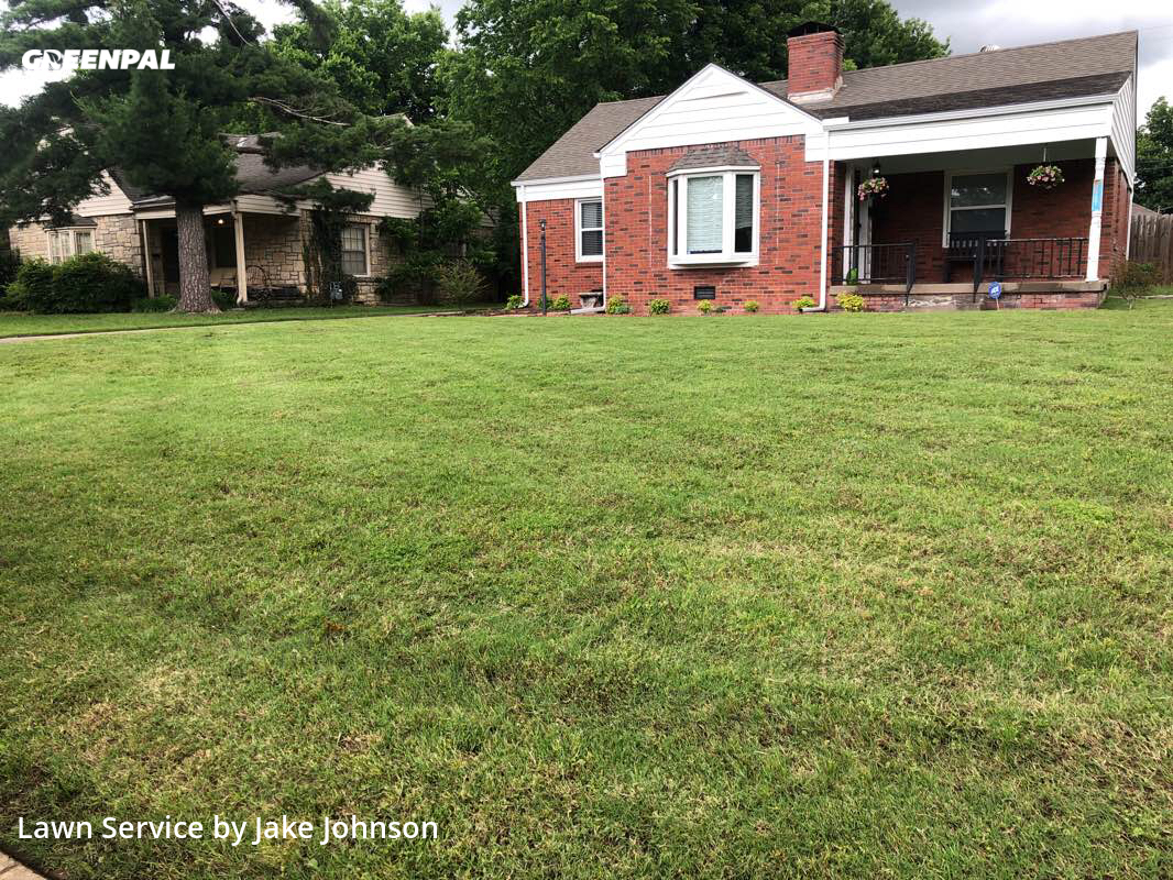 Lawn Maintenancein Tulsa,74112,Lawn Service by Mustang Mowing, work completed in Jul , 2020
