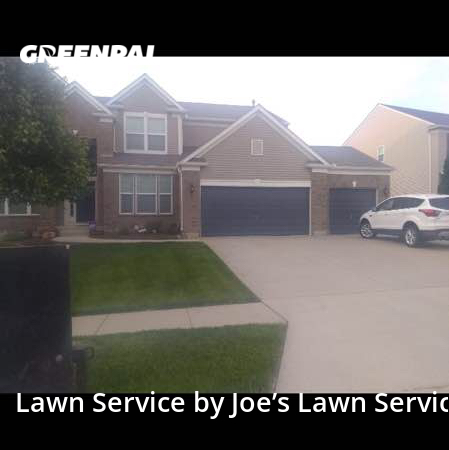 Lawn Carein Shawnee,66227,Grass Cut by Joe's Lawn Service, work completed in Sep , 2020