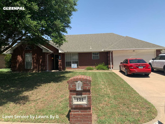 Lawn Carein Burleson,76028,Yard Cutting by Lawns By G, work completed in Jul , 2020