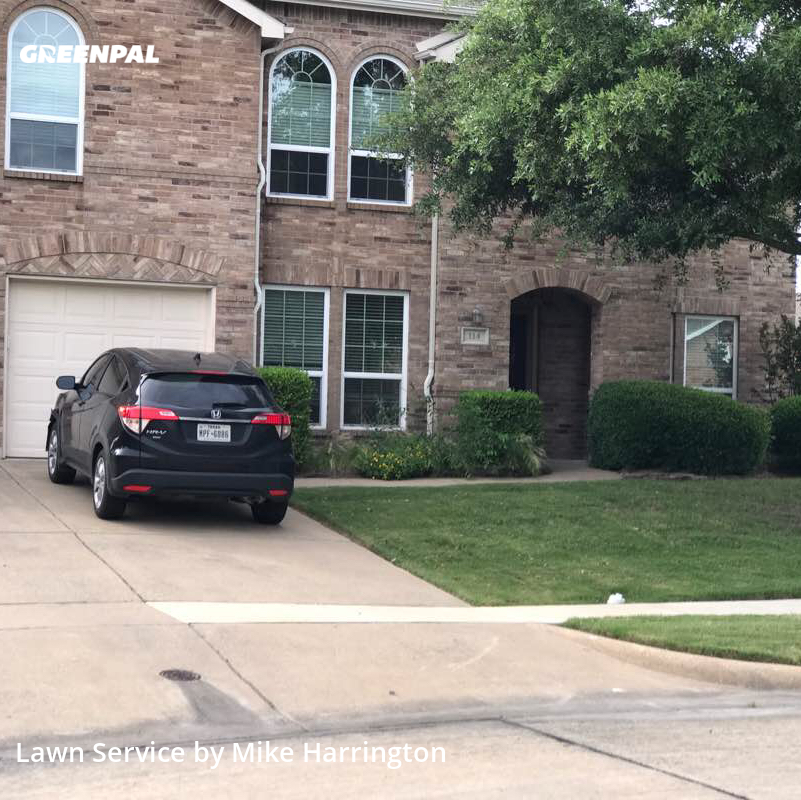Lawn Care Servicein Forney,75126,Yard Mowing by Action Lawn , work completed in Jul , 2020