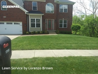 Grass Cuttingin Louisville,40245,Lawn Cutting by Infinity Brown Lawn Llc, work completed in May , 2020