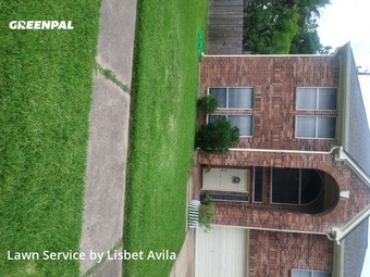 Lawn Carein Sugar Land,77498,Lawn Mow by Lilies Landscaping , work completed in May , 2020