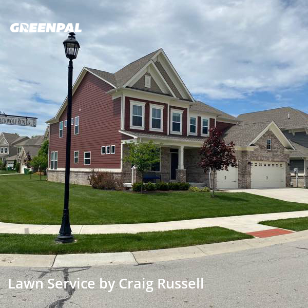 Lawn Carein Carmel,46033,Lawn Mow by Acr Prop. Management, work completed in Sep , 2020