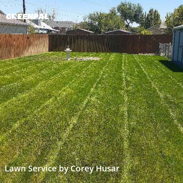 Grass Cutin Englewood,80110,Lawn Care by Husar Lawn & Garden, work completed in Aug , 2020