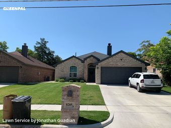 Lawn Care Servicein White Settlement,76108,Lawn Care by Lawns By G, work completed in Jul , 2020