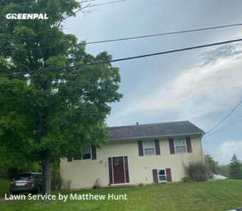 Yard Cuttingin Fairfield,45014,Lawn Mowing Service by Hunts Mowing Service, work completed in May , 2020