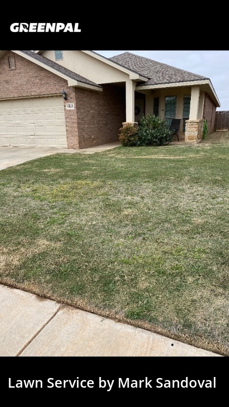Lawn Servicein Lubbock,79424,Lawn Mowing Service by Sandoval Landscaping, work completed in Aug , 2020
