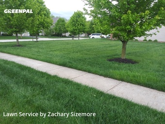 Yard Mowingin Dublin,43016,Grass Cut by Mr Jim's Lawn Care L, work completed in May , 2020