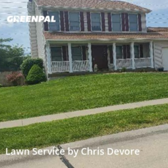 Lawn Cutin O'fallon,63368,Lawn Maintenance by Devco Lawn An Landsc, work completed in Oct , 2020