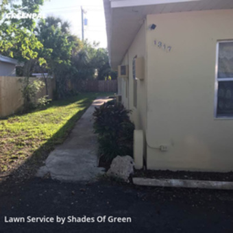 Lawn Carein Fort Lauderdale,33304,Lawn Mowing by Shades Of Green, work completed in Jul , 2020