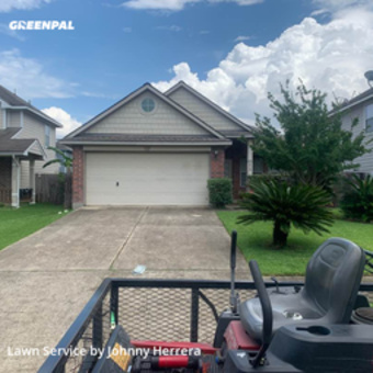 Lawn Maintenancein Tomball,77375,Grass Cutting by Texas Landscape, work completed in Jul , 2020
