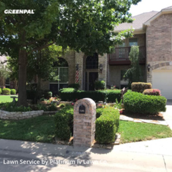 Lawn Maintenancein Mc Kinney,75070,Grass Cut by Platinum Iv Lawn Co., work completed in Jul , 2020