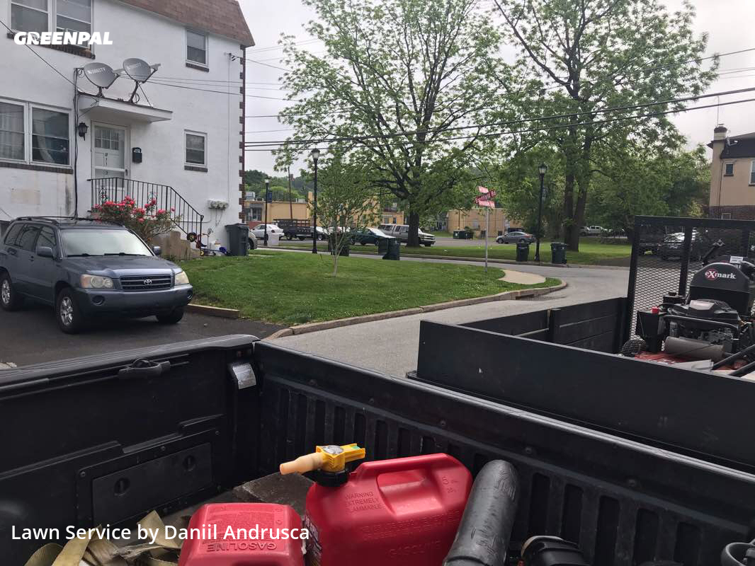 Yard Mowingin Abington,19001,Lawn Mowing Service by Grand Trims, work completed in Aug , 2020