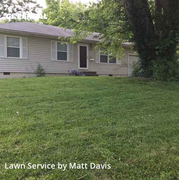 Lawn Maintenancein Kansas City,64134,Yard Cutting by Mid Western Lawn Care, work completed in Jul , 2020