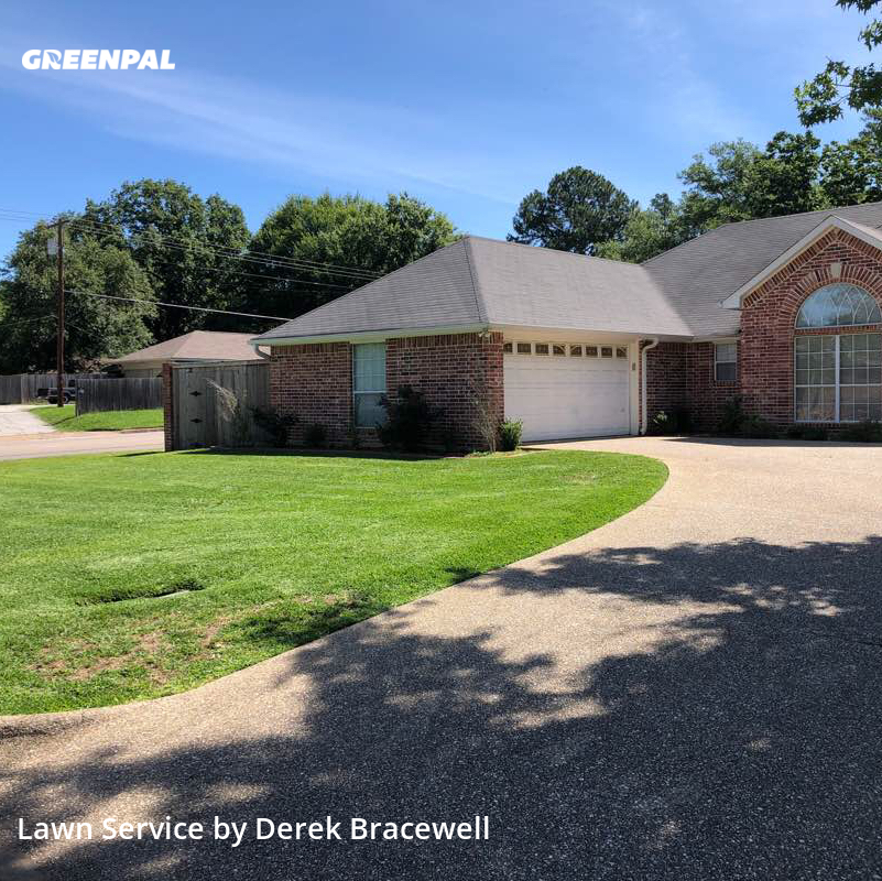 Lawn Maintenancein Tyler,75703,Lawn Cut by Bracewell Lawncare, work completed in Aug , 2020