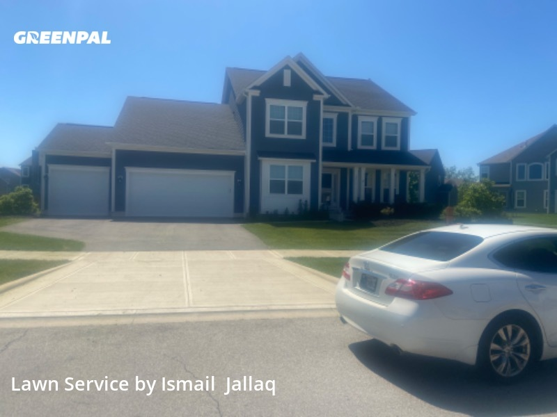 Lawn Servicein Hilliard,43026,Grass Cutting by Mj's Seasonal , work completed in Jul , 2020