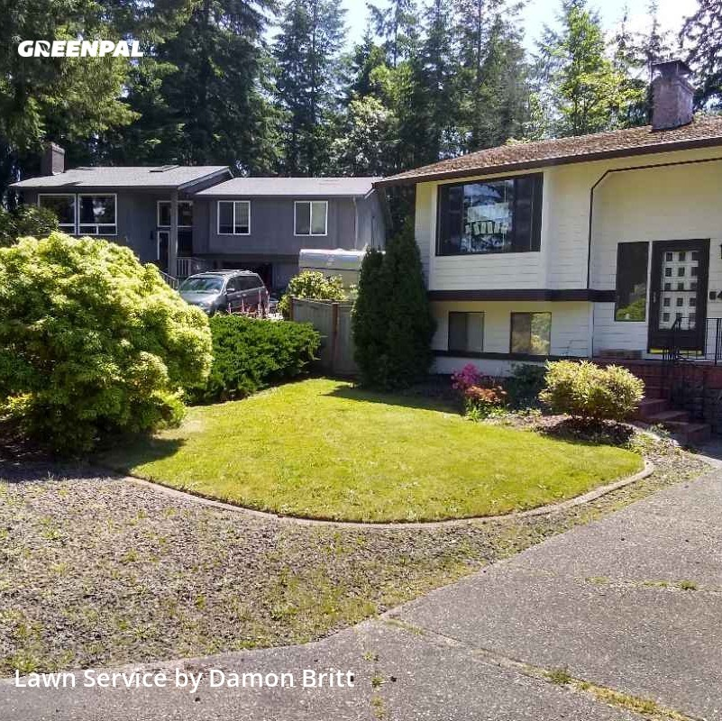 Grass Cutin Tacoma,98467,Lawn Cut by A Kut Above , work completed in Aug , 2020