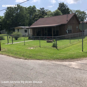 Lawn Care Servicein Orange,77630,Lawn Cutting by Meaux Cuts, work completed in May , 2020