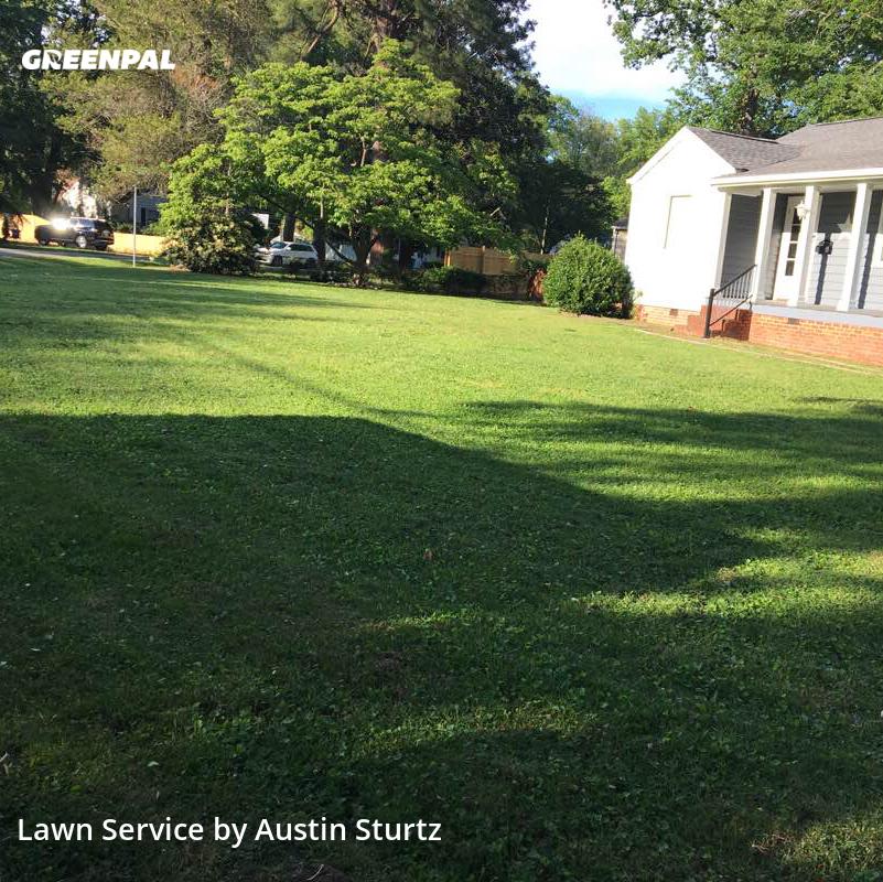 Yard Cuttingin Newport News,23601,Grass Cutting by Regnar Llc, work completed in Jul , 2020