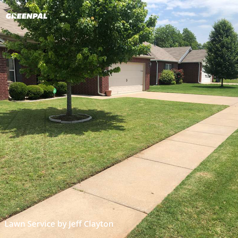 Lawn Carein Bixby,74008,Grass Cutting by Attentive Lawn Care , work completed in Sep , 2020