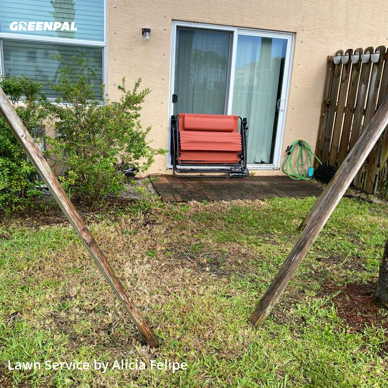 Yard Cuttingin West Palm Beach,33417,Grass Cut by Rosa's Landscaping , work completed in Sep , 2020