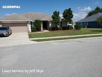 Yard Cuttingin Lakeland,33809,Lawn Cut by Minor Distinction Llc, work completed in May , 2020