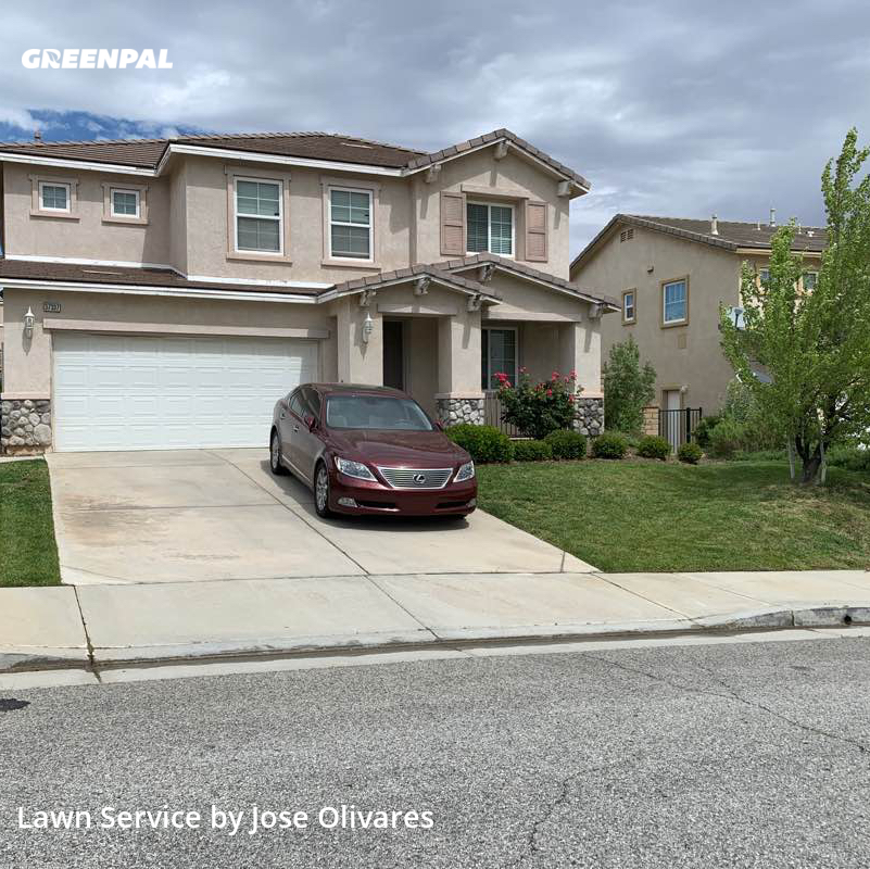 Lawn Mowing Servicein Palmdale,93551,Lawn Care by Olivares Gardening , work completed in Jul , 2020