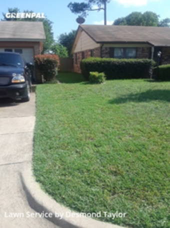 Lawn Mowingin Hurst,76053,Lawn Care by Taylor Made Lawn , work completed in Jul , 2020