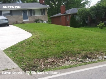 Grass Cutin Covington,41011,Grass Cutting by Truths Lawn Care, work completed in May , 2020