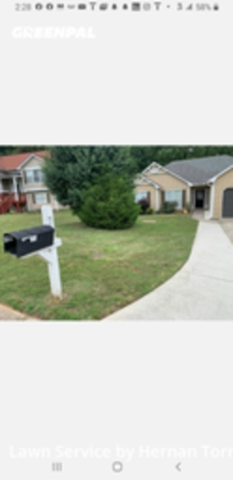 Lawn Cutin Lawrenceville,30046,Lawn Maintenance by Father & Son, work completed in Jul , 2020