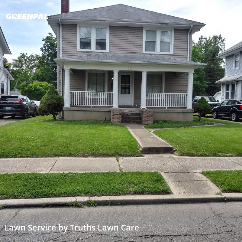 Lawn Mowing Servicein Hamilton,45013,Yard Cutting by Truths Lawn Care, work completed in Aug , 2020