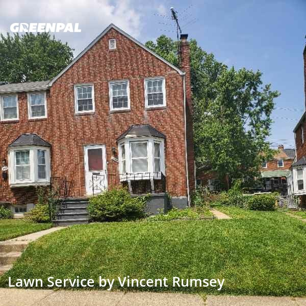 Lawn Carein Towson,21286,Lawn Mowing Service by Precision Lawn Care , work completed in Jul , 2020