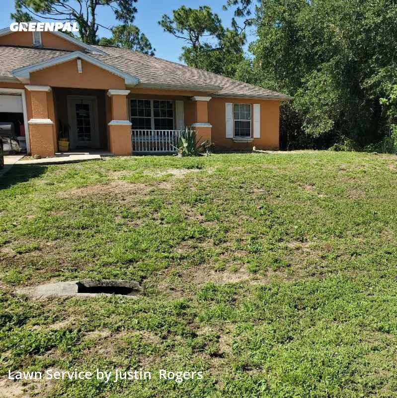 Grass Cutin Lehigh Acres,33974,Lawn Care Service by Rogers And Bronson , work completed in Jul , 2020