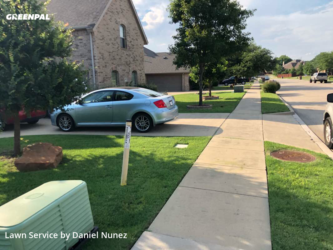 Lawn Mowingin Rowlett,75089,Lawn Service by Dynamic Lawn Care, work completed in Oct , 2020