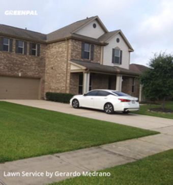 Yard Mowingin Pearland,77581,Lawn Care Service by Gm Landscaping Llc, work completed in May , 2020