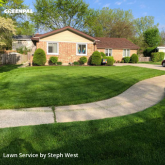 Lawn Maintenancein Arlington Heights,60004,Lawn Mowing by Fatherandsonhandyman, work completed in Aug , 2020