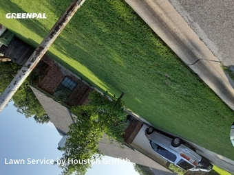 Lawn Mowingin North Richland Hills,76182,Lawn Care Service by Howdy Cut It, work completed in Jul , 2020