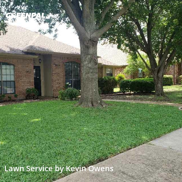 Lawn Mowingin Allen,75002,Lawn Care Service by Pops Mowing , work completed in Oct , 2020