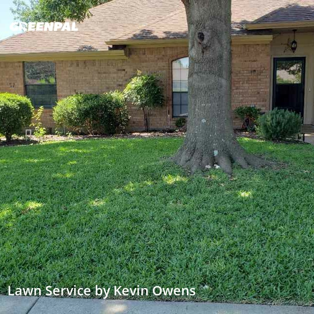 Yard Cuttingin Allen,75002,Grass Cutting by Pops Mowing , work completed in Oct , 2020