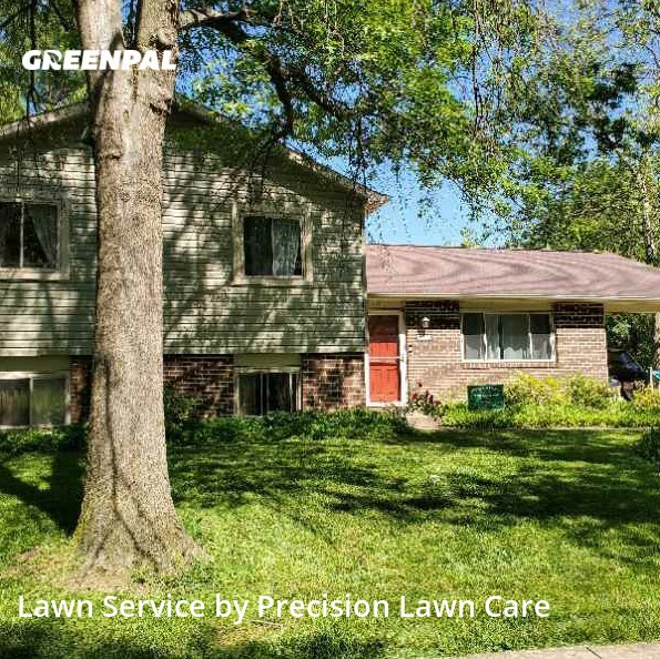 Lawn Care Servicein Columbia,21044,Lawn Cut by Precision Lawn Care , work completed in Oct , 2020