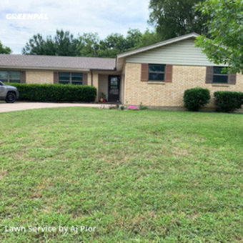 Lawn Maintenancein North Richland Hills,76180,Lawn Care Service by Aj's Lawn Care, work completed in Jul , 2020