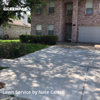 Yard Mowingin Mc Kinney,75070,Grass Cutting by Green Spec Lawn Care, work completed in Jul , 2020