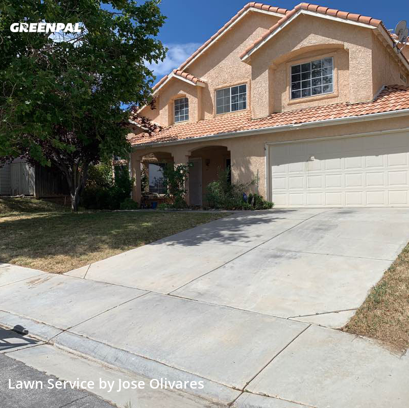 Yard Mowingin Palmdale,93551,Lawn Mow by Olivares Gardening , work completed in Jul , 2020