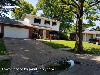 Lawn Care Servicein Granite City,62040,Lawn Cut by Rock Solid Lawncare, work completed in Jul , 2020
