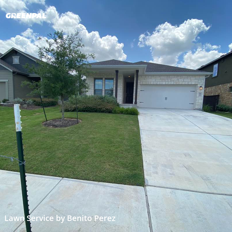 Lawn Care Servicein Leander,78641,Lawn Mow by Benzki Lawn Care, work completed in Jul , 2020