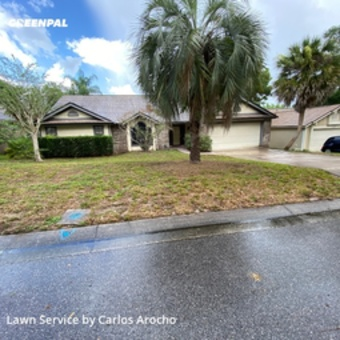 Lawn Mowingin Altamonte Springs,32714,Lawn Care by Arocho Landscaping , work completed in Aug , 2020