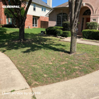 Lawn Servicein Keller,76248,Lawn Cutting by 360 Landscape Servic, work completed in Oct , 2020