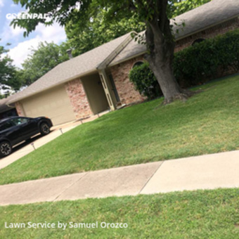 Grass Cuttingin Plano,75023,Lawn Maintenance by H H Lawn Srvc, work completed in May , 2020